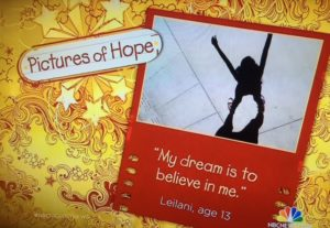 Lidna Solomon's Pictures of Hope/NBC News Screenshot