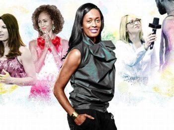 Swin Cash Knicks broadcaster and other women broadcasters/ Illustration: ESPN.com