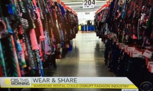 Gwynnnie Bee, company founded by Christine Hunsicker for clothing rental/CBS Screenshot