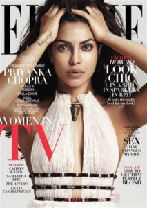 Elle Cover with Priyanka Chopra