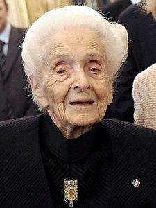Rita Levi-Montalcini/Wikimedia Commons