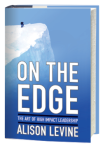 Alison Levine book On the Edge