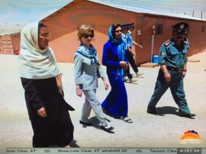 "Laura Bush on her book ""We Are Afghan Women': Photo: NBC Screenshot"