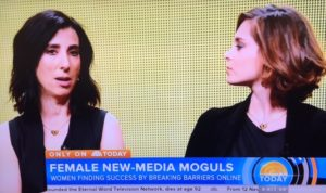 New Women Media Moguls Online/Photo: Screenshot NBC TODAY