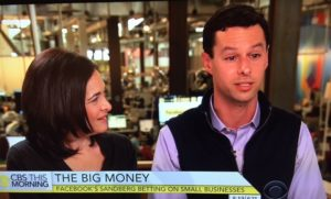 Sheryl Sandberg CBS This Morning/Photo: CBS Screenshot