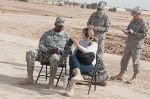 Kelly McEvers, reporter/Photo: U. S. Army
