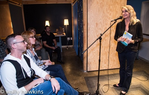 Kristy Ling at The Writer's Block, Las Vegas/Photo: Wally Hawkins