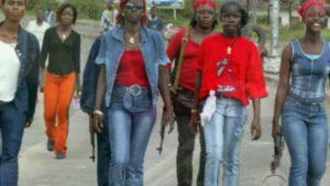 Liberian Women/Photo: CBS News re Eclipsed story