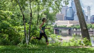 Alisha Perkins, runner, author of Running Home/Photo: Luke Weber