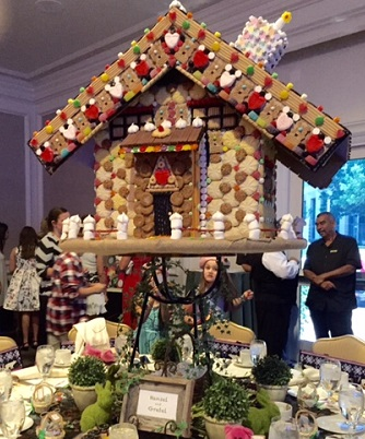 Hansel and Gretel House at HEAL FairyTale Tea/Photo: P. Burke