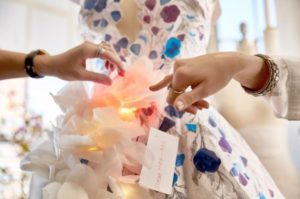 Met cognitive dress/Photo: Marchesa