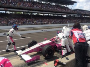 Pippa Man, female race car driver at Indy 500/Photo: Twitter, Pippa Mann