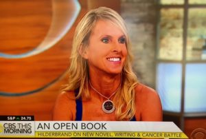 Elin Hilderbrand on CBS This Morning/Photo: Screenshot