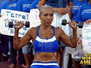 Ernestine Shepherd on GMA/Photo: Screenshot