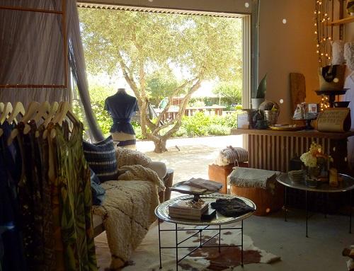 Linda Hamilton's Nomad Chic boutique, Sonoma