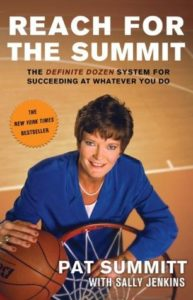 Pat Summitt book Reach for the Summit