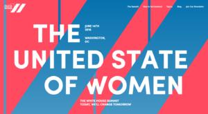 United State of Women Summit logo/refinery29