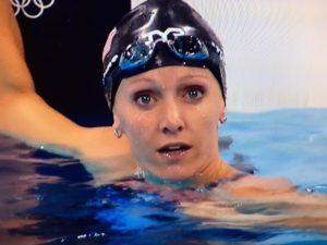 Dana Vollmer, Olympic Mom Swimmer/Photo: NBC Screenshot