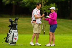 Liz Young, pregnant women's golfer/Photo: Liz Young