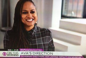 Ava DuVernay, Director/Photo: CBS Screenshot