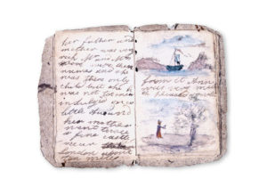 Charlotte Bronte manuscript/Photo: Bronte Parsonage Museum