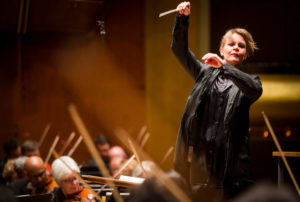 Susanna Malkki, NY Met Opera Conductor/Photo: Chris Lee/New York Times
