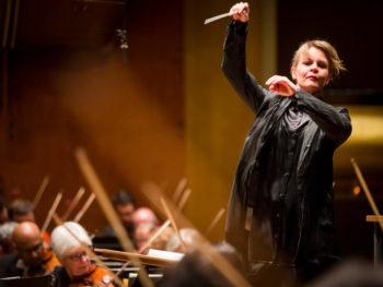 Susanna Malkki, NY Met Opera Conductor/Photo: Chris Lee/New York Times