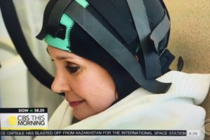 Cancer cap/Photo: Screenshot CBS This Morning