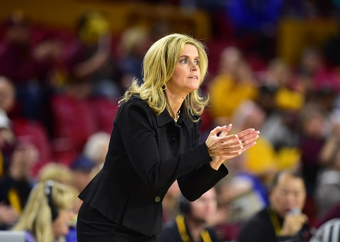 Charli Turner Thorne, Sun Devils women's basketball coach/Photo: Sun Devil Athletics