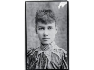 "Liz Cochrane, ""Nellie Bly""/Photo: Library of COngress"