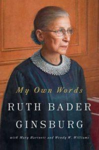 Ruth Bader Ginsburg book/npr.org