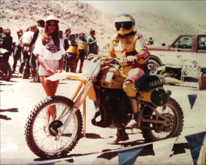 Motorcyclist Trudy Beck/Photo: Trudy Beck