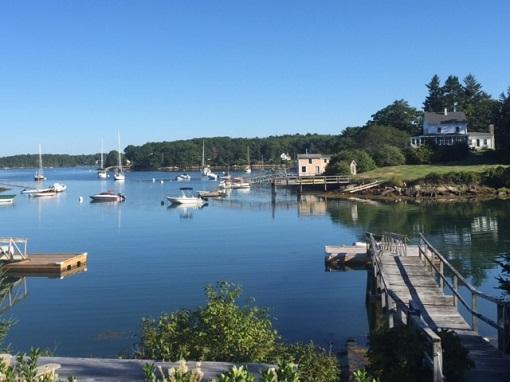 Seascape in South Bristol, Maine/Photo: P. Burke