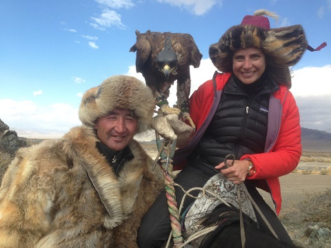 StaceyReiss/father of Aisholpan from The Eagle Huntress/Photo: Stacey Reiss
