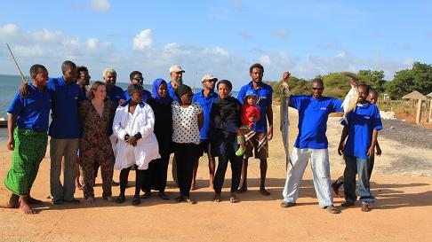 Umra Omar crew/Photo: Safari Doctors