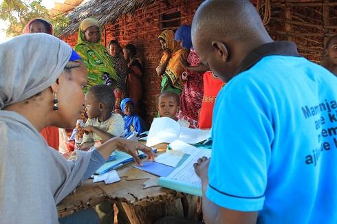 Umra Omar in Kiwayu/Photo: Safari Doctors