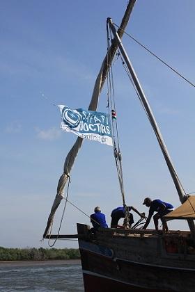 Umra Omar Safari Doctors boat/Photo: Safari Doctors