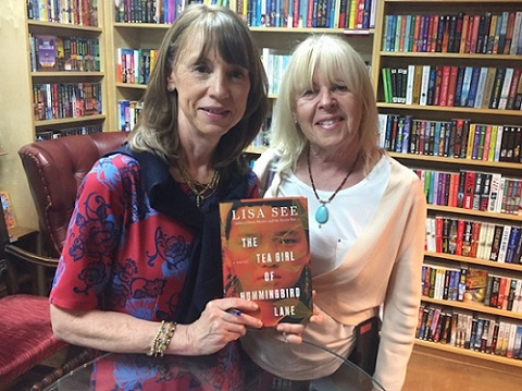 Lisa See, NY Times Bestselling Author, and Pamela Burke, founder The Women's Eye | 2017 Books Not To Miss