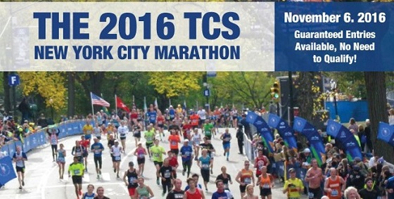 New York City Marathon Banner 2016
