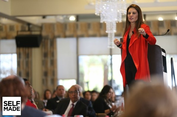 Nely Galán, author of Self Made--Becoming Empowered Self-Reliant and Rich in Every Way
