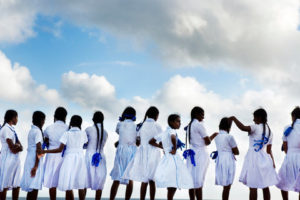 School girls in Galle Port, Sri Lanka/Photo: Malin Fezehai