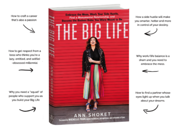"""Ann Shoket book On Money, Monumental Relationships and Living the """"Big Life'"""
