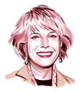 Leslie Stahl, author of book about grandmothers/Illust. by Jillian Tamaki