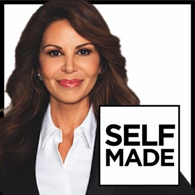 Nely Galán and her book, Self Made