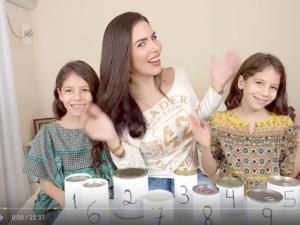 Mila Diverte and twins in Brazil/Photo: YouTube