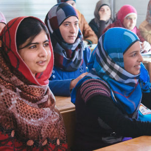 Malala Fund photo from their website