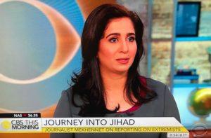 Souad Mekhennet, author/Photo: CBS Screenshot