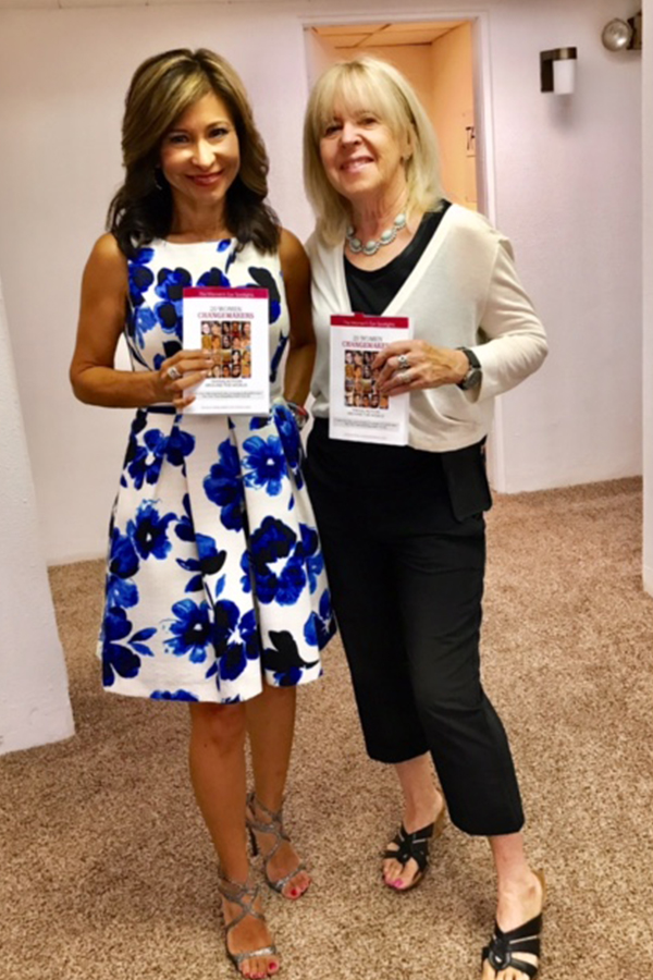 Catherine Anaya and Pamela Burke   20 Women Changemakers   The Women's Eye Magazine & Radio Show