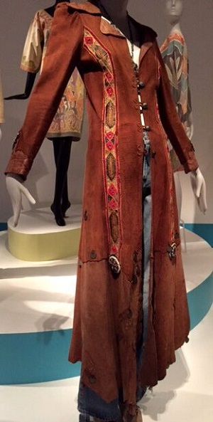 Leather coat at Summer of Love exhibit, deYoung Museum-SF/Photo Provided by Wendy Verlaine