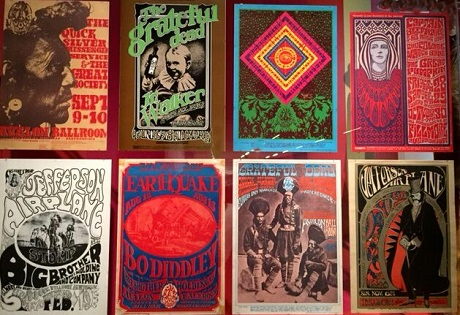 Summer of Love posters at deYoung Museum, San Francisco/Photo provided by Wendy Verlaine